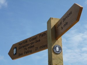 coast-path-sign