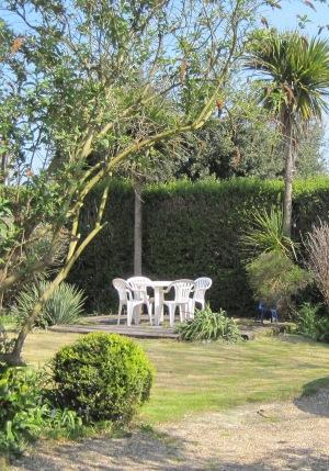 Henrys Cottage Rear Garden